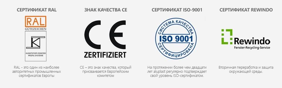 сертификаты на окна днепропетровск